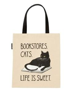 Tote Bookstore Cats