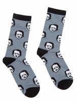 Socks Edgar Allan Poe-ka Dots Large