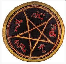 Supernatural Devils Trap Doormat