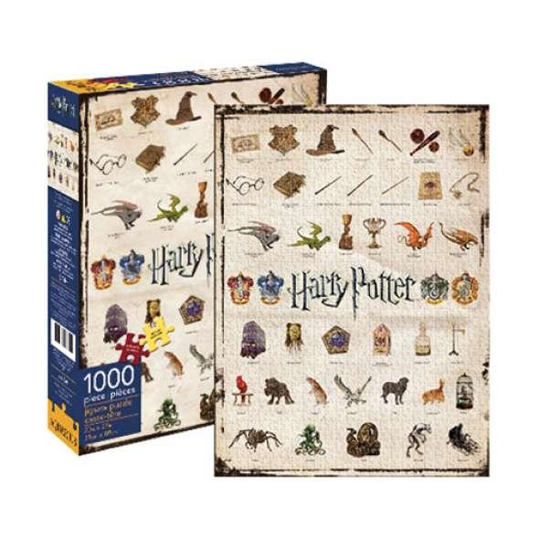 Harry Potter Icons 1 000 piece Puzzle