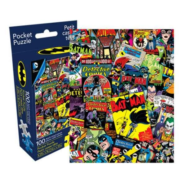 DC Comics Batman Collage Pocket Puzzle 100 pieces