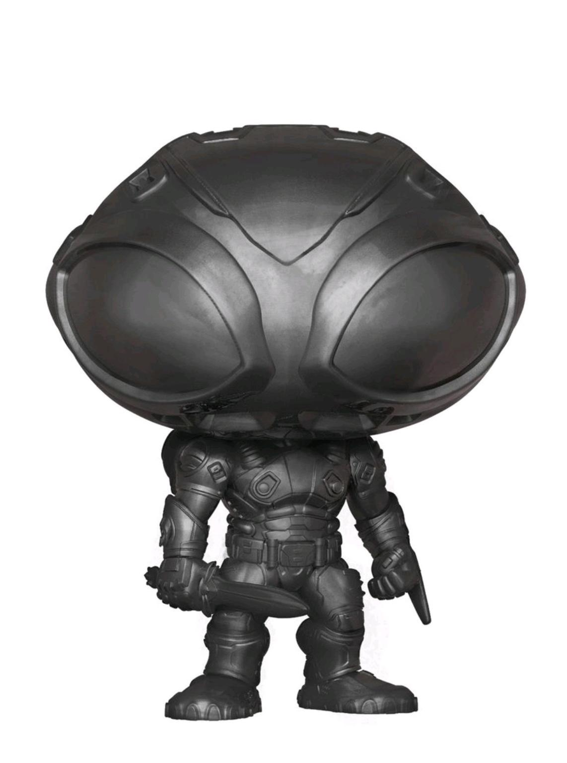 Aquaman - Black Manta Brushed Steel US Exclusive P