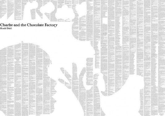 Charlie and the Chocolate Factory - Black & White spineless classic