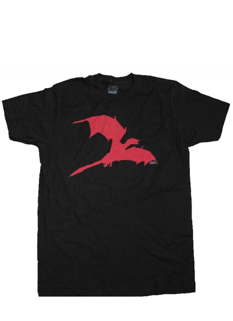 GAME OF THRONES LARGE DRAGON T-SHIRT