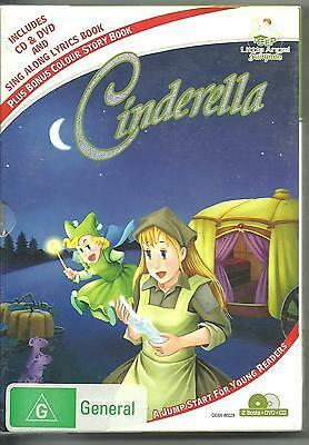 CINDERELLA BOOK CD DVD