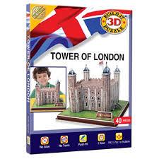 3D PUZZLE TOWER OF LONDON