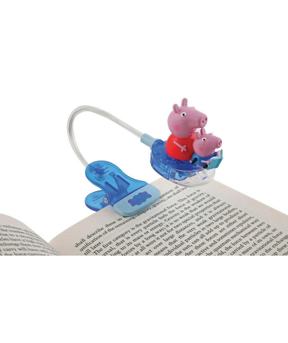 peppa pig booklight