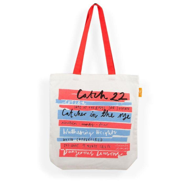 Tote Bag - Book Stack