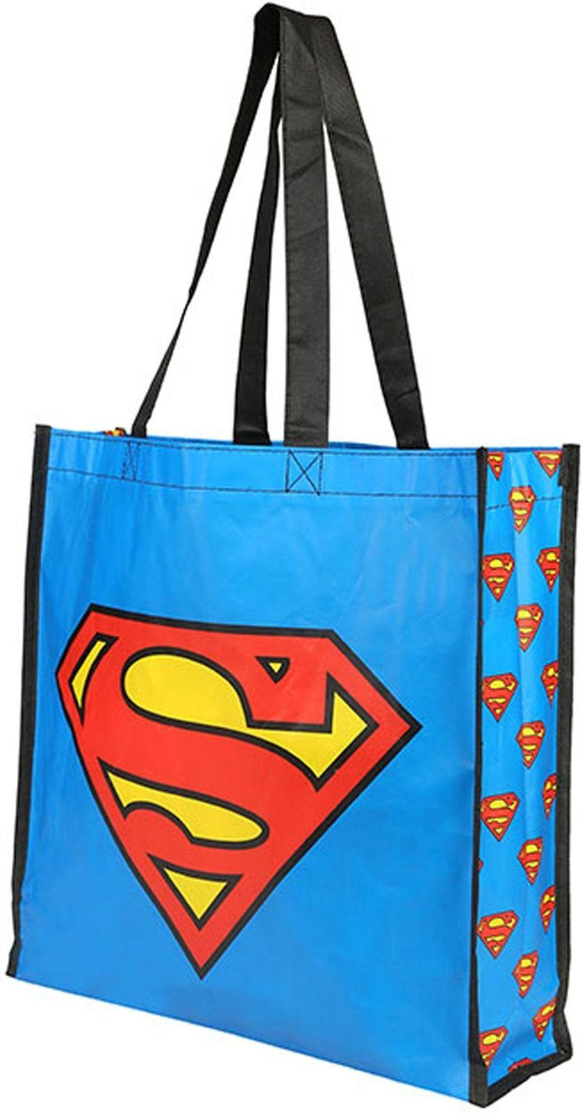 Superman Logo Unisex Navy Tote Bag