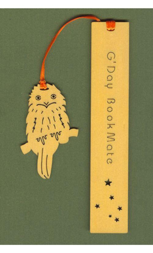 BookMate OWL Pine Bookmark