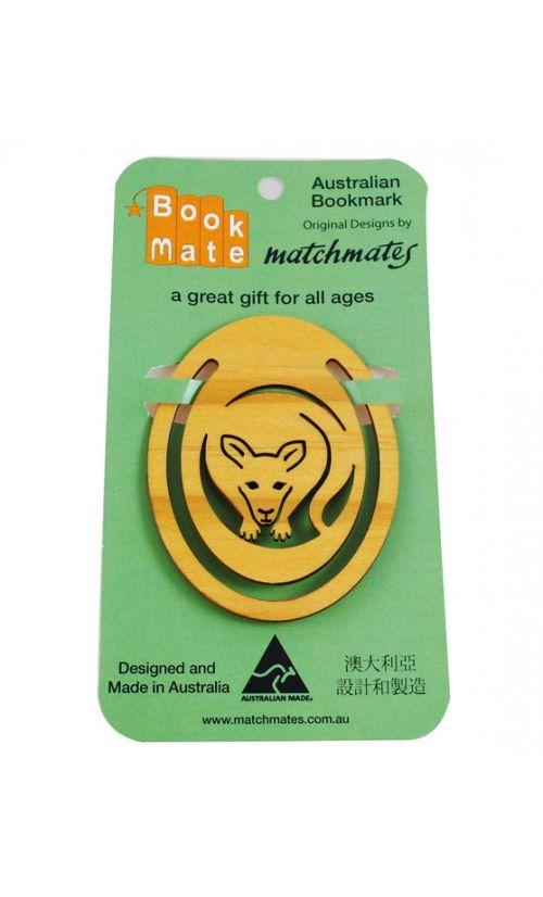BookMate KANGAROO PINE ROUND BOOKMARK