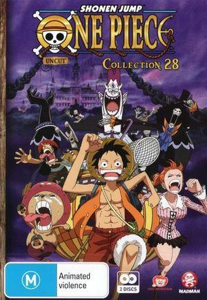 ONE PIECE (UNCUT) COLLECTION 28 (EPS 337-348)