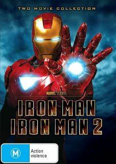 2 PACK IRON MAN/IRON MAN 2