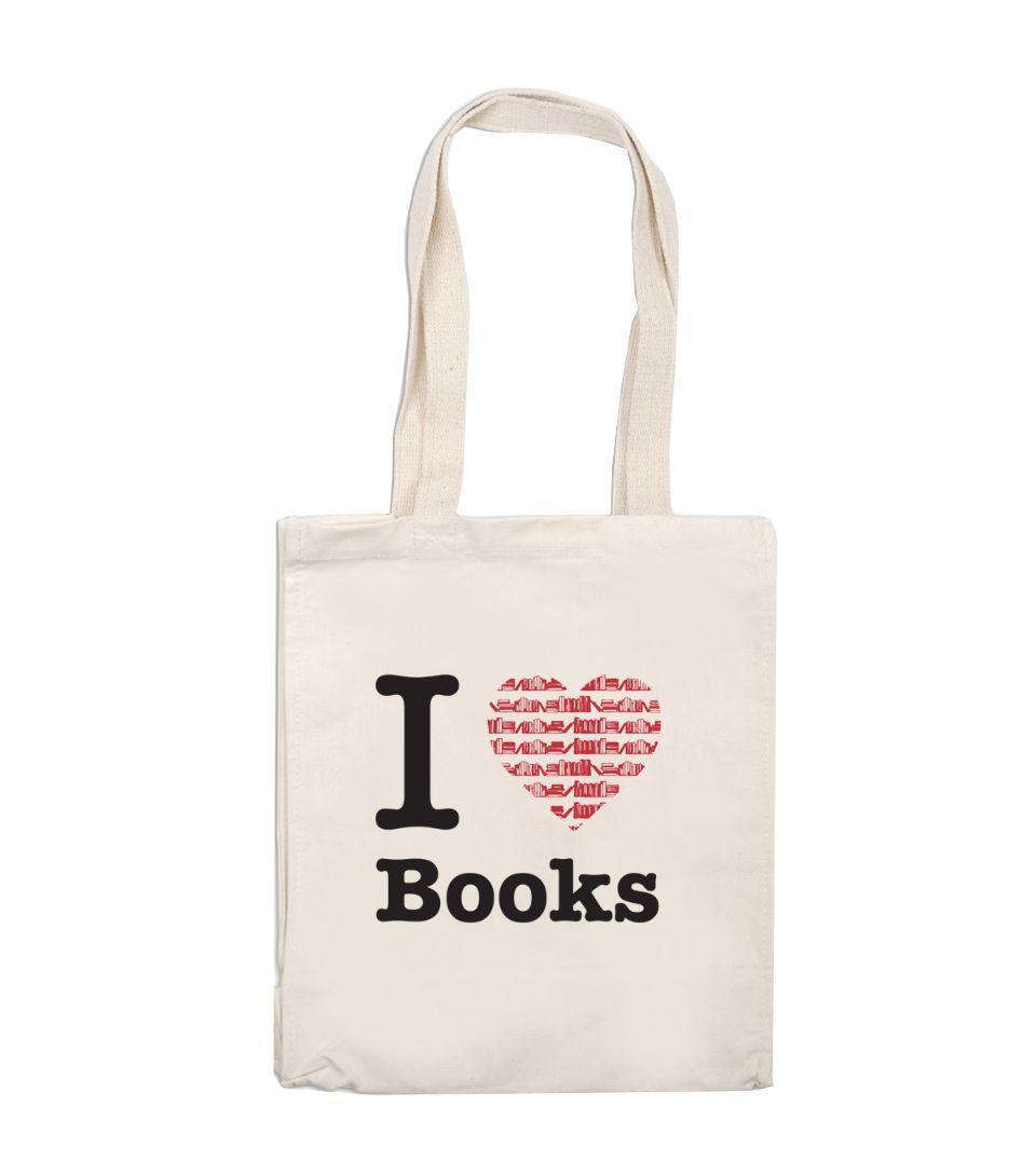 TOTE I LOVE BOOKS