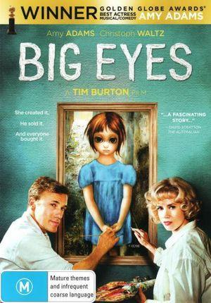 Big Eyes DVD