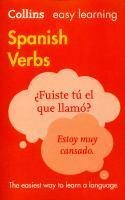 Collins Easy Learning Spanish Verbs [Third Edition