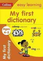 4-5 My First Dictionary Collins Easy Learning