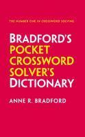 Collins Bradford's Pocket Crossword Solver's Dicti