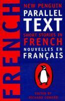 New Penguin Parallel Texts: Short Stories in French