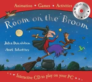ROOM ON THE BROOM BOOK & INTERACTIVE CD