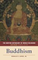 Buddhism Norton Anthology of World Religions