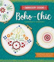Boho-Chic Embroidery Designs