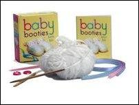 Baby Booties Knit Kit Mini Edition