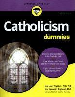 Catholicism for Dummies 3rd Edition