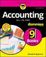 Accounting All-In-One for Dummies Second Edition