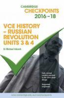 VCE 3&4 History Russian Revolution 2016-20 Cambridge        Checkpoints