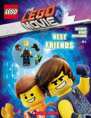 The LEGO Movie 2 Vest Friends Activity Book with