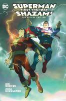 Superman/Shazam! First Thunder Deluxe Edition