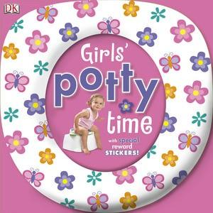 Girl's Potty Time With Special Reward Stickers