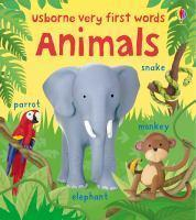 VERY FIRST WORDS  ANIMALS BOARD BOOK