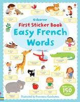 First Sticker Book - Easy Words French