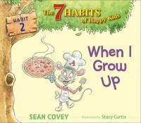 When I Grow Up Habit 2