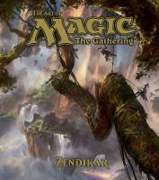 ART OF MAGIC THE GATHERING - ZENDIKAR THE