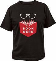 Book Nerd T-shirt Large