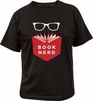 Book Nerd T-Shirt XLarge