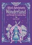 Alices Adventures in Wonderland And Looking Glass           Leatherbound