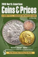 2018 North American Coins and Prices A Guide to U S Canadianand Mexican Coins