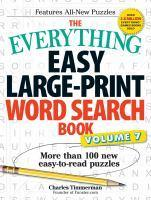Everything Easy LargePrint Word Search Book Vol 7