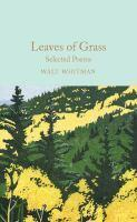 Leaves of Grass Selected Poems