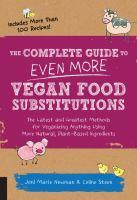 The Complete Guide to Even More Vegan Food Substit