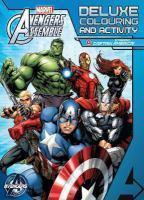 Avengers Assemble Deluxe Colouring and Activity B