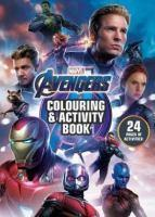 Avengers 4 Colouring and Activity Book