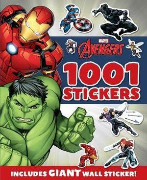 Avengers 1001 Stickers Book