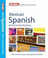 Berlitz Mexican Spanish Phrase Book & Dictionary