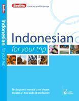 Berlitz Language Indonesian for Your Trip