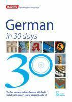 Berlitz German in 30 Days